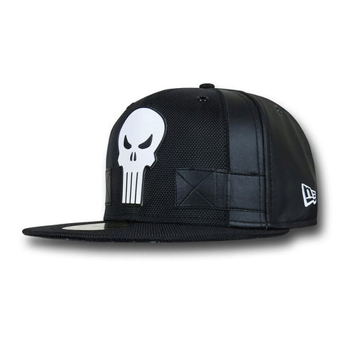 Marvel The Punisher Character Armor New Era 59Fity Fitted Cap