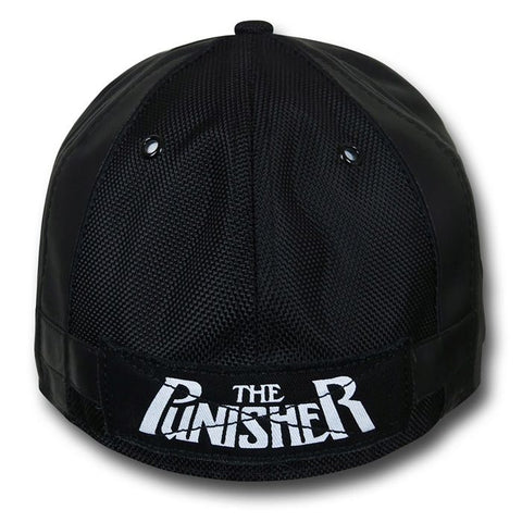 Marvel The Punisher Character Armor New Era 59Fity Fitted Cap ... 2210189e6c0