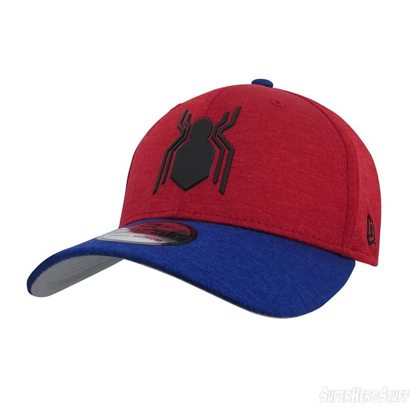 35638b56511 Marvel Spider-Man Homecoming Shadow Logo New Era 39Thirty Stretch-Fit –  urban TEE