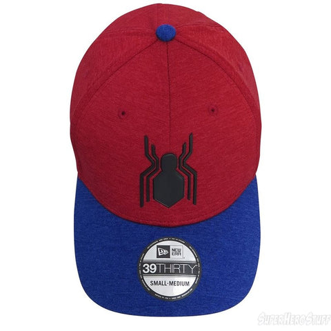fc203238892 ... Marvel Spider-Man Homecoming Shadow Logo New Era 39Thirty Stretch-Fit  Cap ...