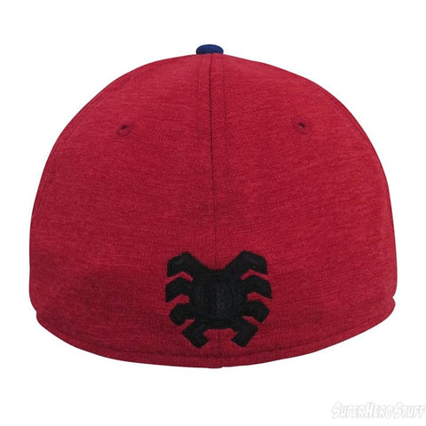 06c4b8aa66f ... Marvel Spider-Man Homecoming Shadow Logo New Era 39Thirty Stretch-Fit  Cap