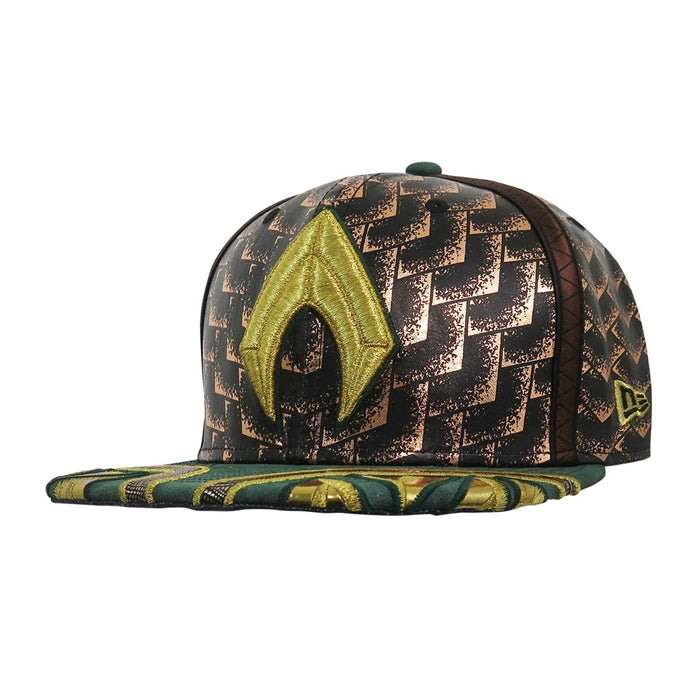 DC Comics Justice League Aquaman Character Armor New Era 59Fifty Fitted Cap