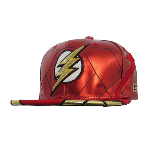 DC Comics Justice League Flash Character Armor New Era 59Fifty Fitted Cap