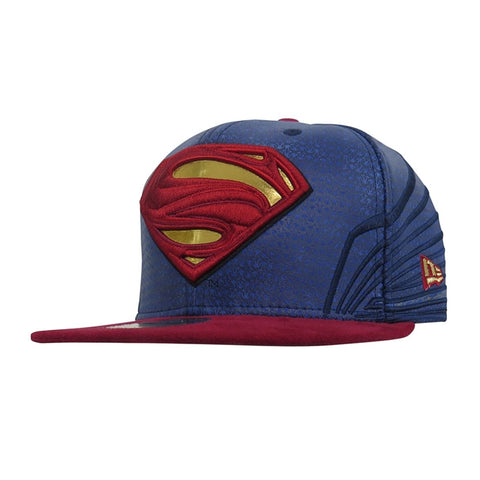 DC Comics Justice League Superman Character Armor New Era 59Fifty Fitted Cap