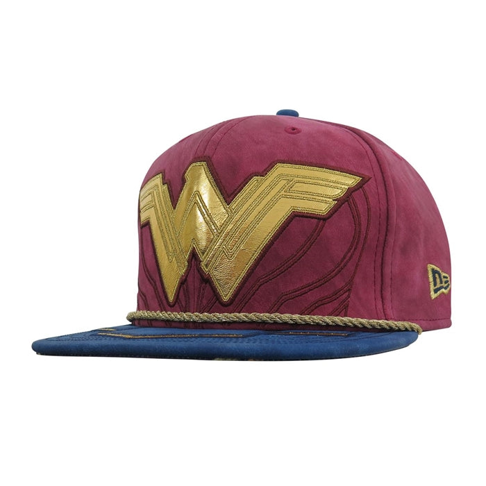 DC Comics Justice League Wonder Woman Character Armor New Era 59Fifty Fitted Cap