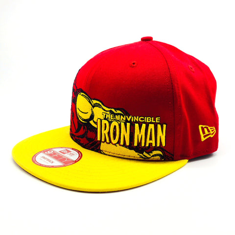 c7e5fcf8787112 ... discount sale marvel iron man hero stance new era 9fifty snapback cap  06e9d 22491