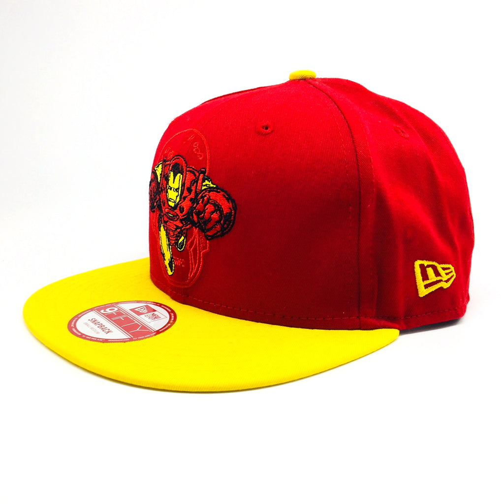 Marvel Iron Man Hero Charge New Era 9Fifty Snapback Cap