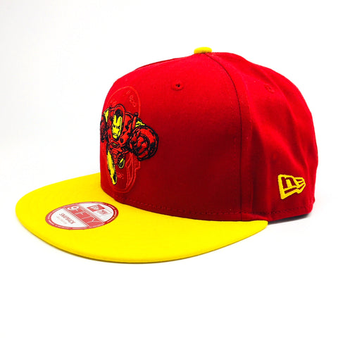 8577a17d7e7731 ... sweden sale marvel iron man hero charge new era 9fifty snapback cap  224de b69cd