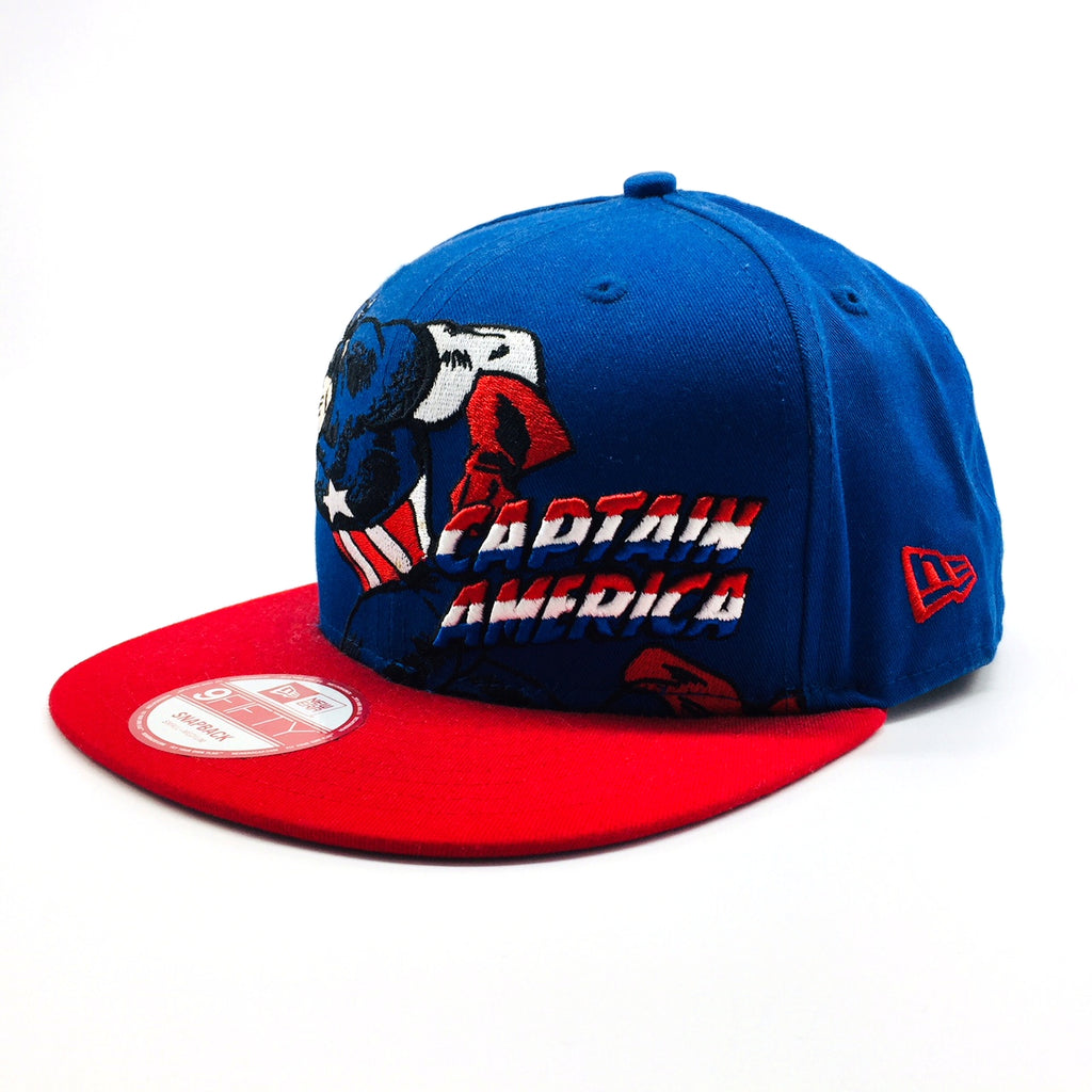 462be085feabe Marvel Captain America Hero Stance New Era 9Fifty Snapback Cap – urban TEE