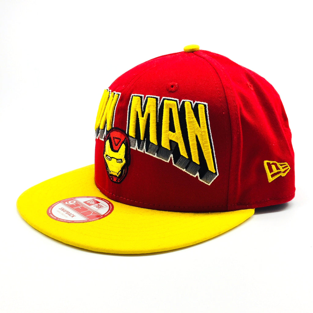 Marvel Iron Man Hero's Block New Era 9Fifty Snapback Cap