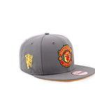 Manchester United Logo Gray New Era 9Fifty Snapback Cap