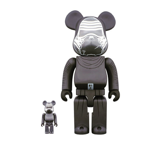 BEARBRICK 400% + 100% Star Wars VII The Force Awakens Kylo Ren