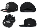 Manchester United Logo White New Era 9Fifty Snapback Cap