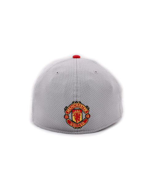 Manchester United Red Devil Gray New Era 39Thirty Stretch Fitted Cap – urban  TEE 0634fb03225b