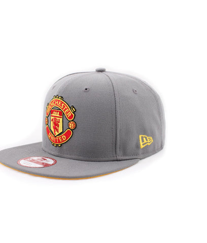 d6deccf9a29ed Sold Out Manchester United Logo Gray New Era 9Fifty Snapback Cap