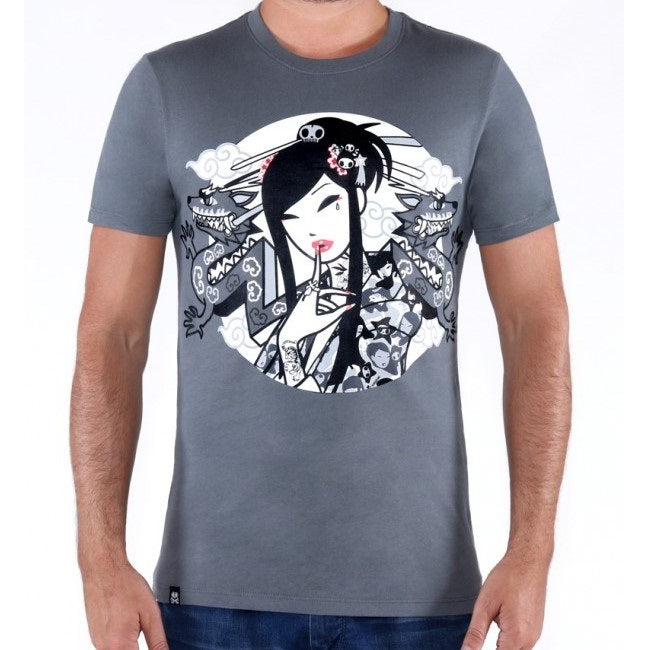 Tokidoki Geisha Dragon T-Shirt (US Import)