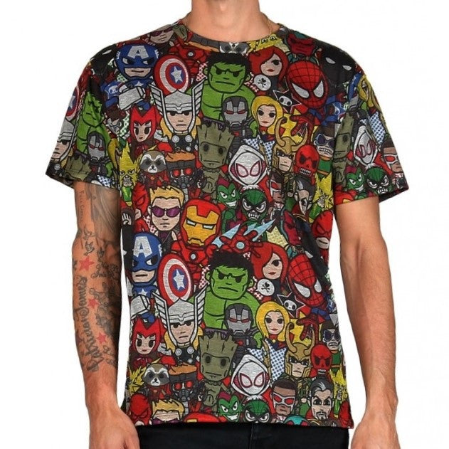 Tokidoki Marvel Super Pop Hero T-Shirt