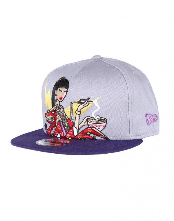 Tokidoki Ramen Girl New Era 9Fifty Snapback Cap