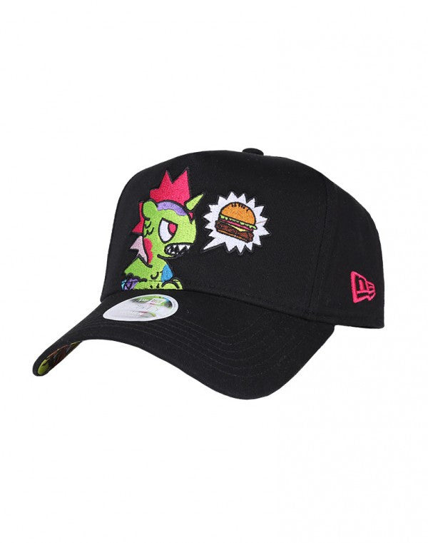 Tokidoki Kaiju Burger New Era 9Forty Women Snapback Cap