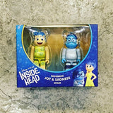 BEARBRICK 100% Inside Out Set of 2