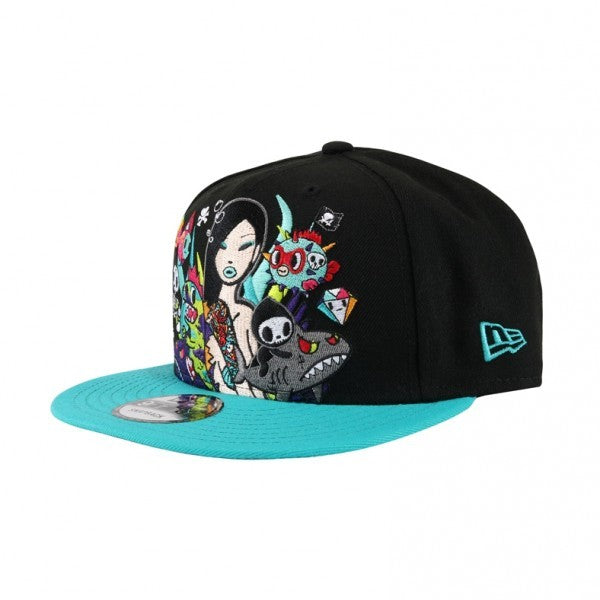 Tokidoki Mermaid Babe New Era 9Fifty Snapback Cap