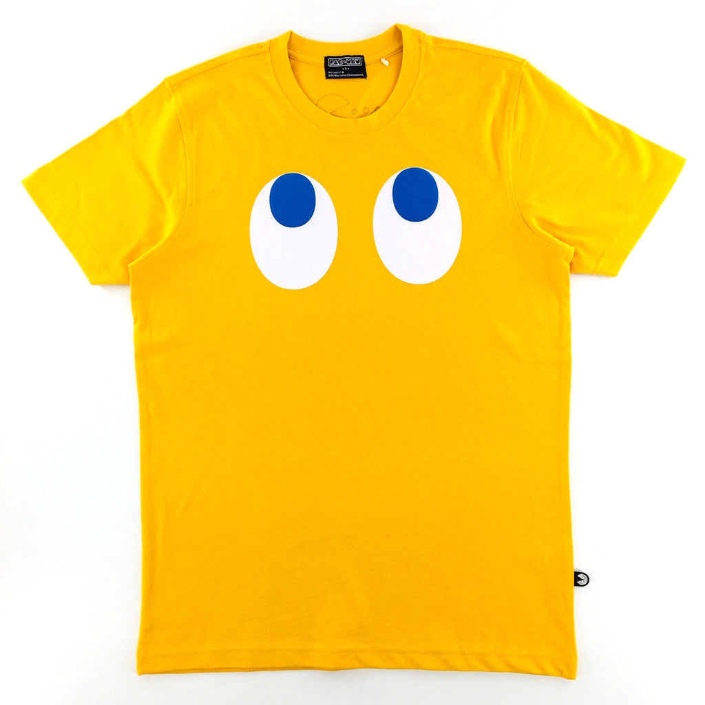 PAC-MAN Kinky Kinzo Face Yellow T-Shirt