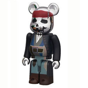 BEARBRICK Series 22 Horror (Captain Jack Sparrow)