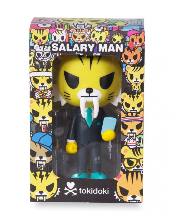 quality design 50460 58e8e Tokidoki Salary Man Tiger Vinyl
