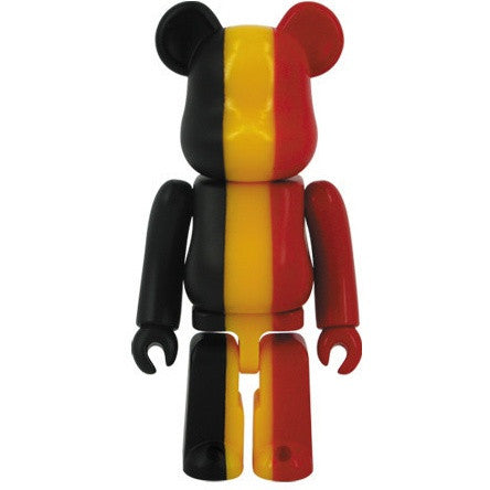 BEARBRICK Series 27 Flag (Belgium)