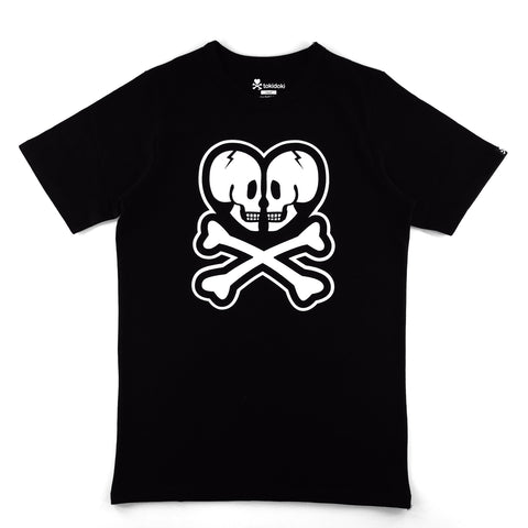 Tokidoki Basic Double Skull Logo T-Shirt
