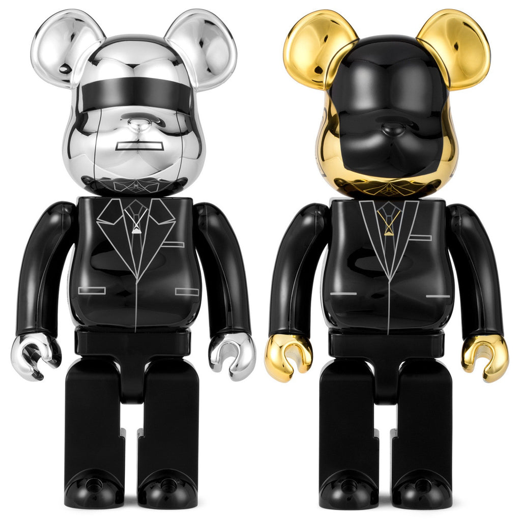 BEARBRICK 400% Daft Punk - Random Access Memories Set of 2