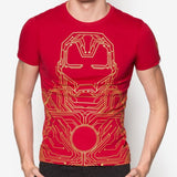 PREMIUM Marvel Iron Man Circuit Line T-Shirt