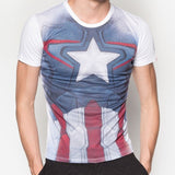 PREMIUM Marvel Captain America Costume T-Shirt