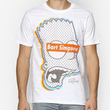 The Simpsons Raw 3D Bart Head T-Shirt