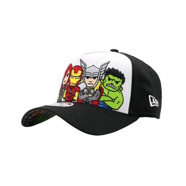 Tokidoki Avengers Ready for Action New Era 9Forty Women Snapback Cap
