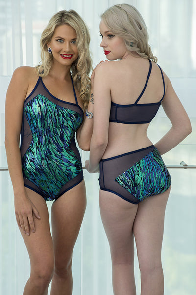 MERMAID SWIRLS SWIM BIKINI