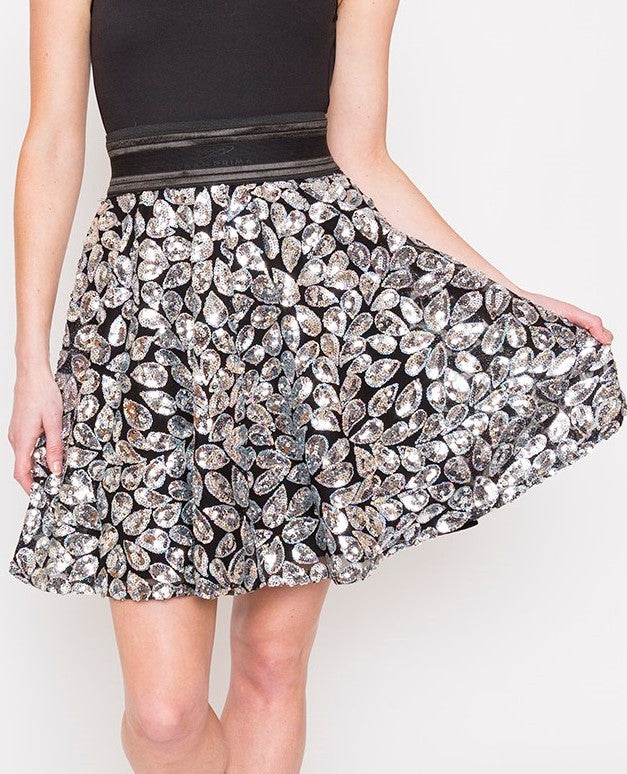 Sparkle droplet Cocktail Skirt (LIMITED EDITION)