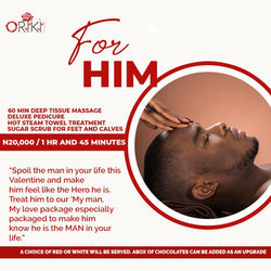 'For Him' Valentines Packages