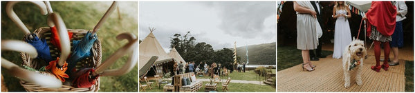 "Wedding Festival ""WED-FEST"" by The Curries - relaxed, stylish and fun Tipi Wedding styled by LemonBox Studios"