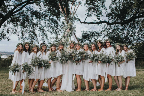 Weddding Bridesmaid - the ultimate wedding day girl gang