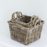 Trio of Square Baskets