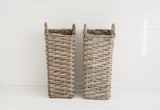 Set of 2 'Petit' Willow Umbrella Stands