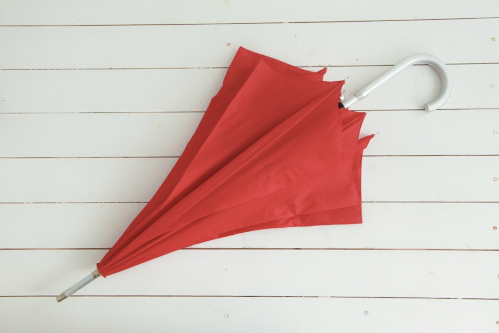 Pillar Box Red Umbrella