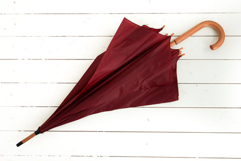 Burgundy Party Umbrella