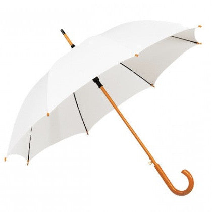 Wood Stick Wedding Umbrella