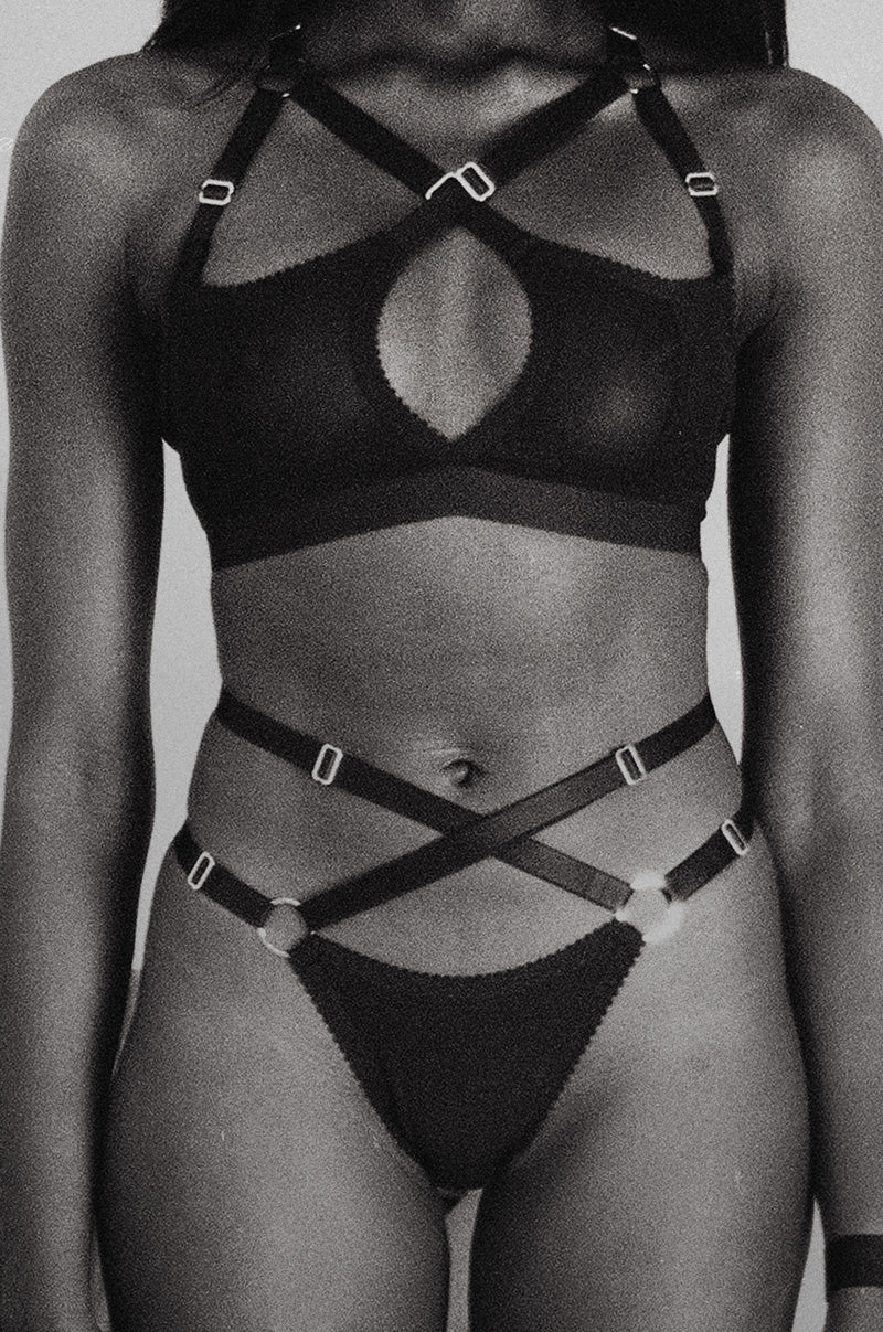 Strappy Bralettes & Knickers | New Classics by Hopeless Lingerie