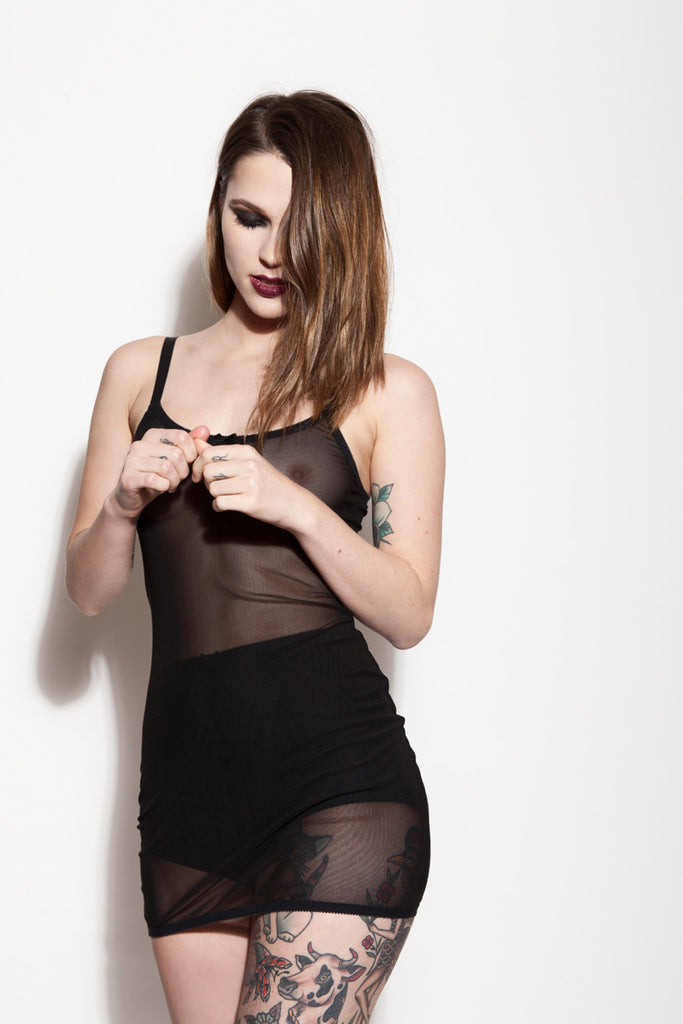 See Through Lingerie & High Waisted Panties | Alice by Hopeless Lingerie