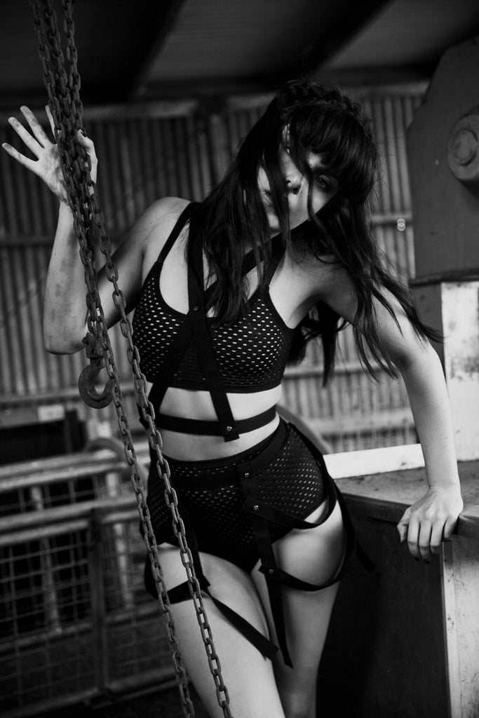 Body Harness | Bondage Outfit | Hannah & Catherine by Hopeless Lingerie