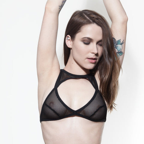Cut Out Bralette | Bondage Outfits | Rosie by Hopeless Lingerie