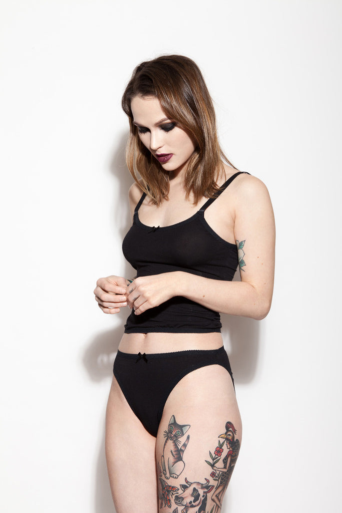 Bamboo Underwear | Kim & Kelly by Hopeless Lingerie